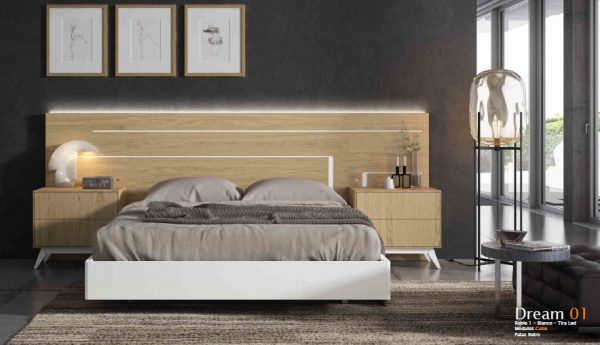Dormitorio de Matrimonio Ilusion Relax Dream 1