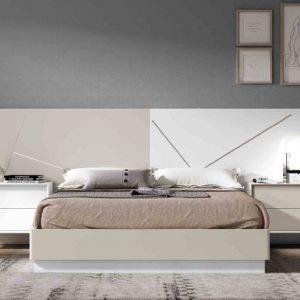 Dormitorio de Matrimonio Ilusion Relax Minimal 1